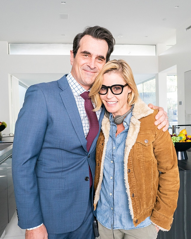 All Smiles -  Julie Bowen and costar Ty Burrell.
