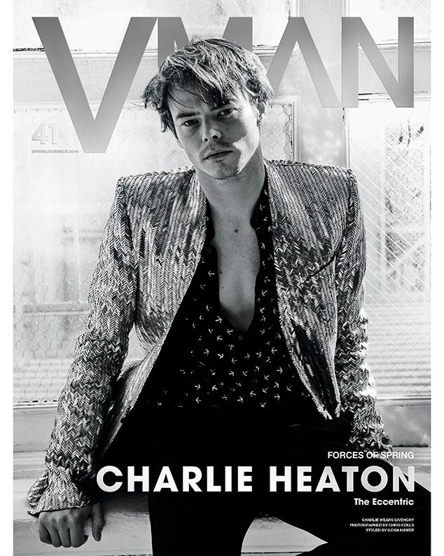 Charlie Heaton, V Man Magazine