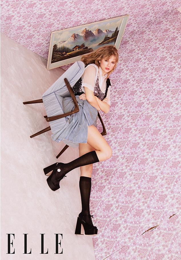 Taylor Swift. Elle UK