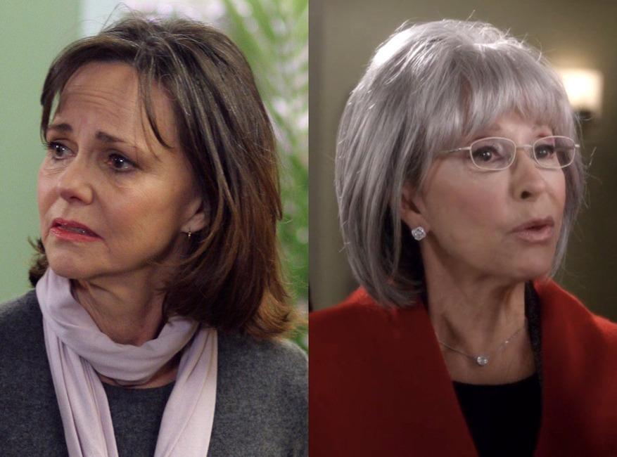 ER, Greys Anatomy, Guest Stars, Sally Field, Rita Moreno