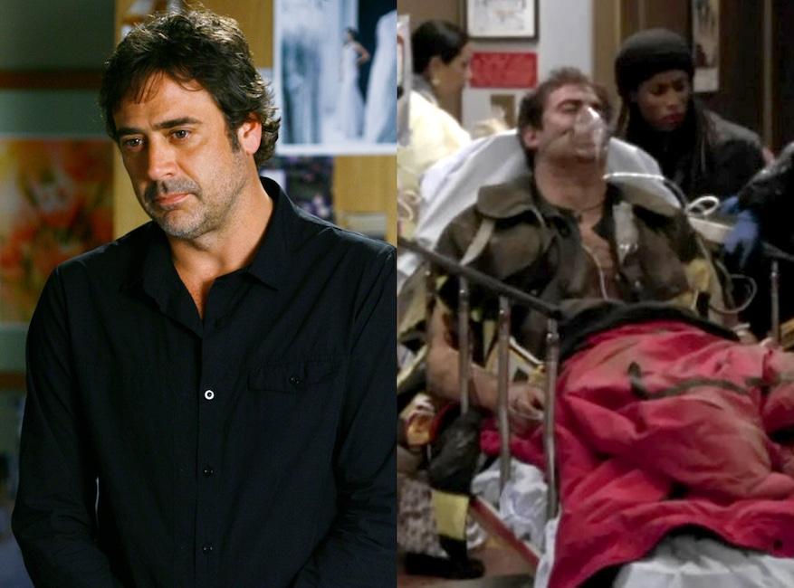 ER, Greys Anatomy, Guest Stars, Jeffrey Dean Morgan
