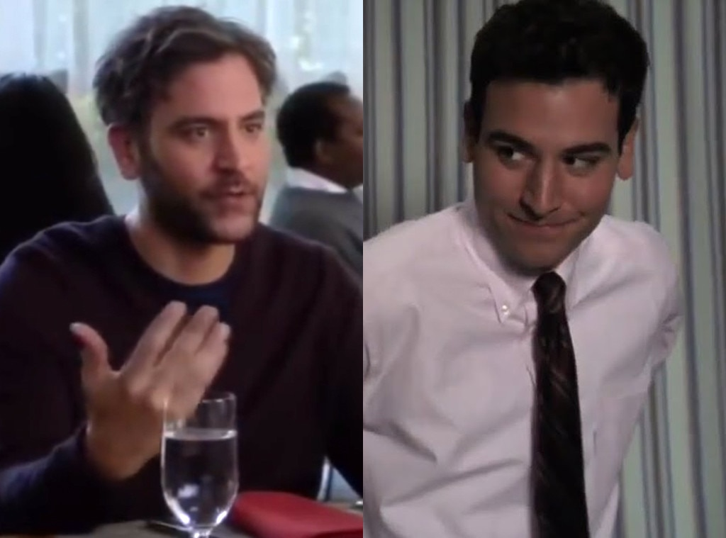 The Josh Radnor -  Another of the few actors to appear on both shows,  Josh Radnor  played the gay lover of a Chicago alderman who contracted syphilis in  ER 's ninth season. Meanwhile, he popped up on  Grey's  in 2018 as one of Meredith's ill-fated season 15 dates.