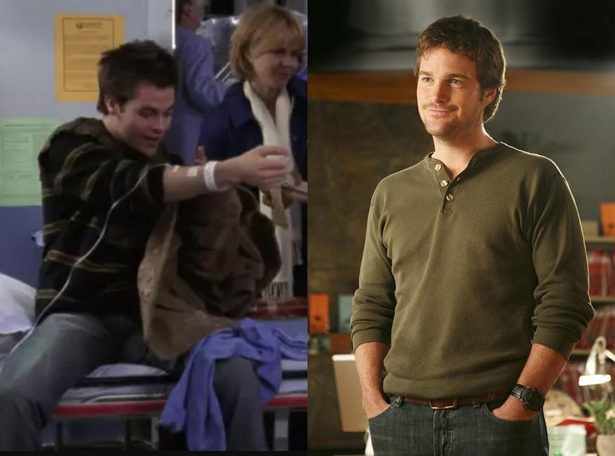 ER, Greys Anatomy, Guest Stars, Chris Pine, Chris O'Donnell