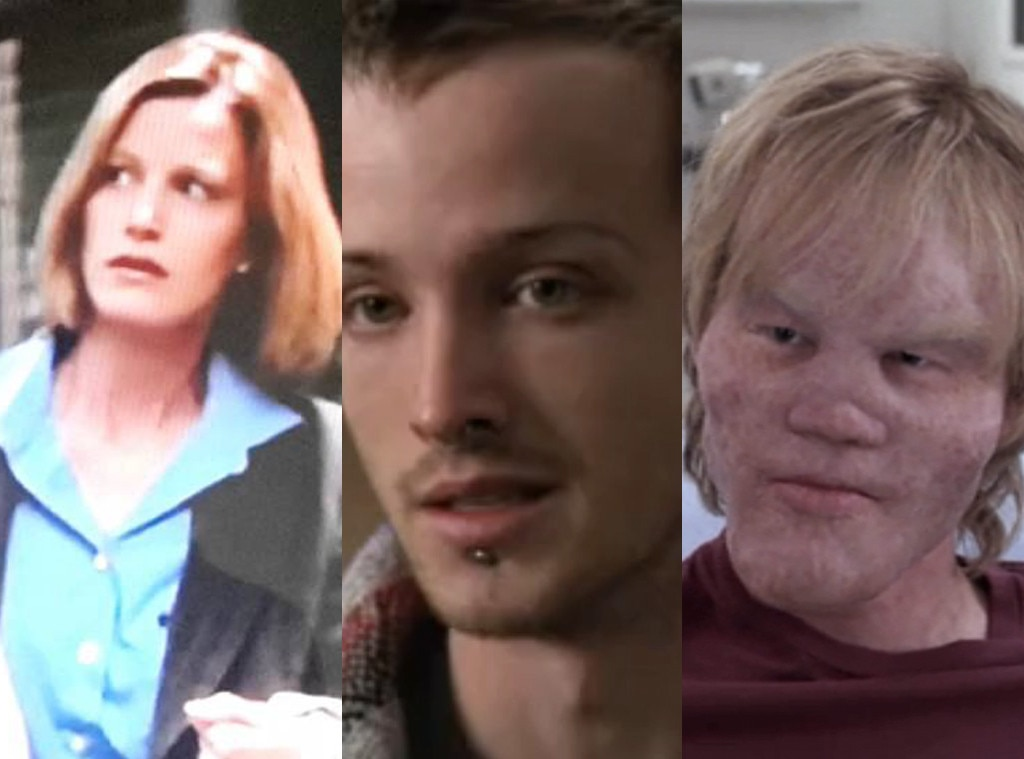 The Future  Breaking Bad  Star -  Before either would go on to have their lives ruined by Walter White as his wife Skyler and former student-turned-fellow meth cook Jesse Pinkman on the iconic AMC drama,  Anna Gunn  and  Aaron Paul  would pop up on NBC's medical drama in 1999 and 2003, respectively. Meanwhile, before  Jesse Plemmons  sent chills down our spines as he charming psychopath Todd Alquist in  Breaking Bad 's final season, he appeared in a 2006 episode of the ABC soap.