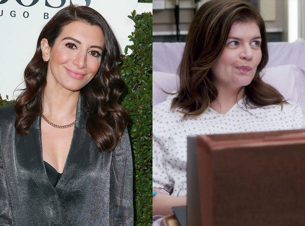 The  SNL  Star -  A year before she joined the cast of  Saturday Night Live  in 2009,  Nasim Pedrad  recurred on what would become her home network's medical drama as Nurse Suri. Meanwhile, seven years after she was let go from the late-night comedy,  Casey Wilson  popped up as a patient pregnant with quadruplets on the ABC soap, returning to the network three years after it canceled her beloved  Happy Endings .
