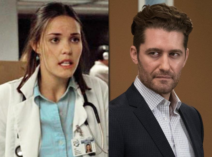 ER, Greys Anatomy, Guest Stars, Leslie Bibb (ER)/Matthew Morrison (Grey's)