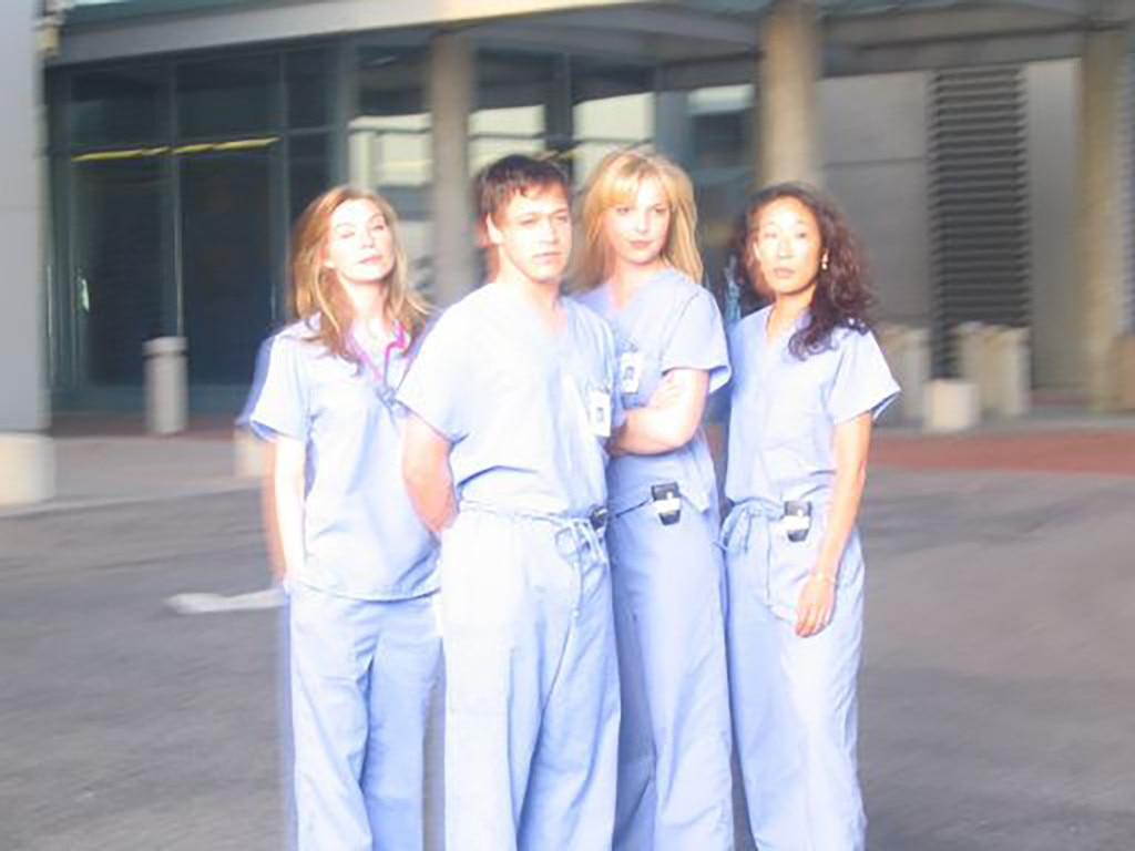 The Cast -  Shonda Rhimes took this while the cast was having their first photo shoot.