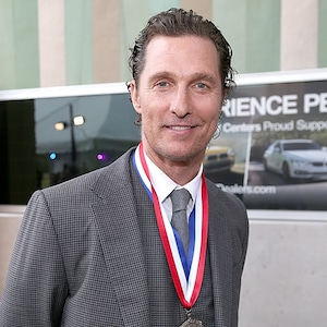 Matthew McConaughey, Texas Medal Of Arts Awards