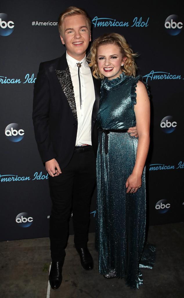 Caleb Lee Hutchinson, Maddie Poppe, American Idol