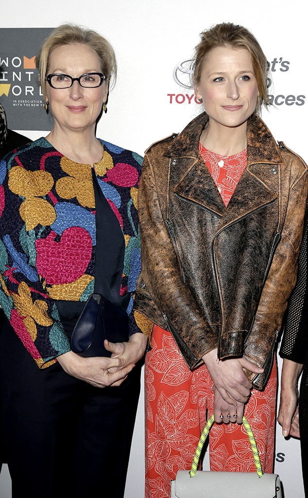 Mamie Gummer - Meryl Steep became a first-time grandmother when  her daughterwelcomed  herfirst child with her fiancé Mehar Sethi in February.