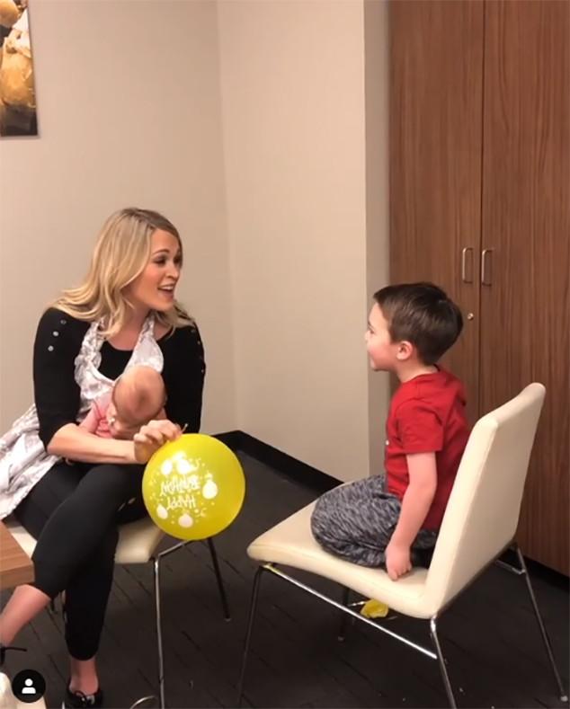 Carrie Underwood, Son, Isaiah, Jacob