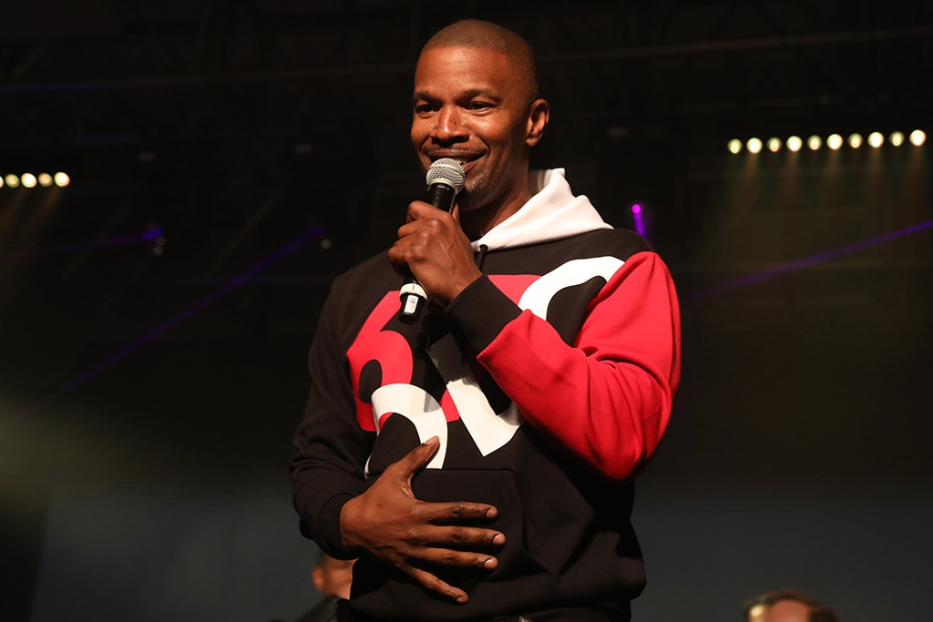 Jamie Foxx -  Thestar performsat the Maxim Big Game Experience party. He performed for almost an hour and FaceTimed a mystery person while onstage.