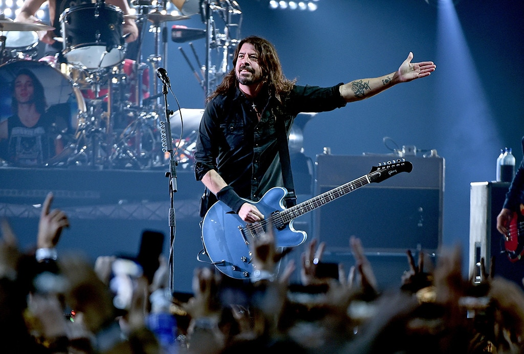 Foo Fighters - Dave Grohl  and his band rock theat theDIRECTV Super Saturday Night 2019 Super Bowl party.
