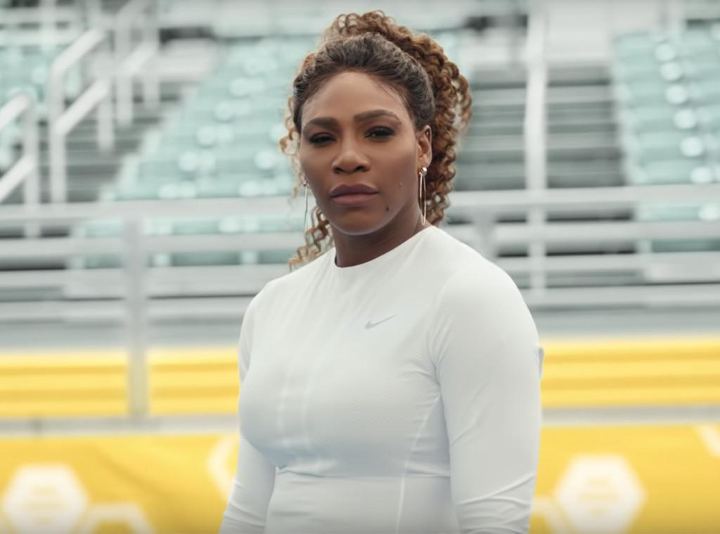 Serena Williams, Super Bowl Ad, Bumble Commercial