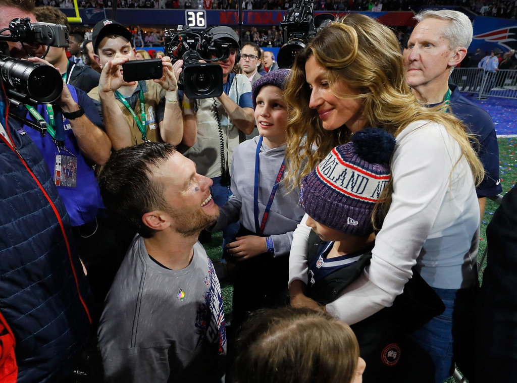 Tom Brady, Gisele Bündchen, Super Bowl