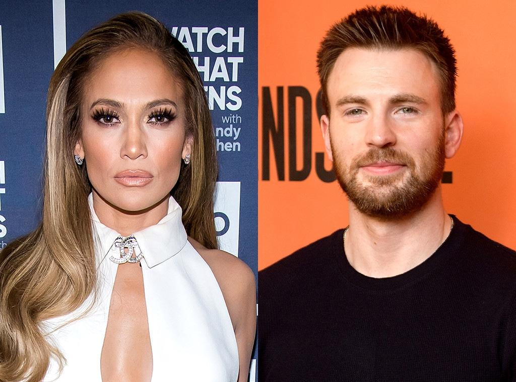Jennifer Lopez, Chris Evans