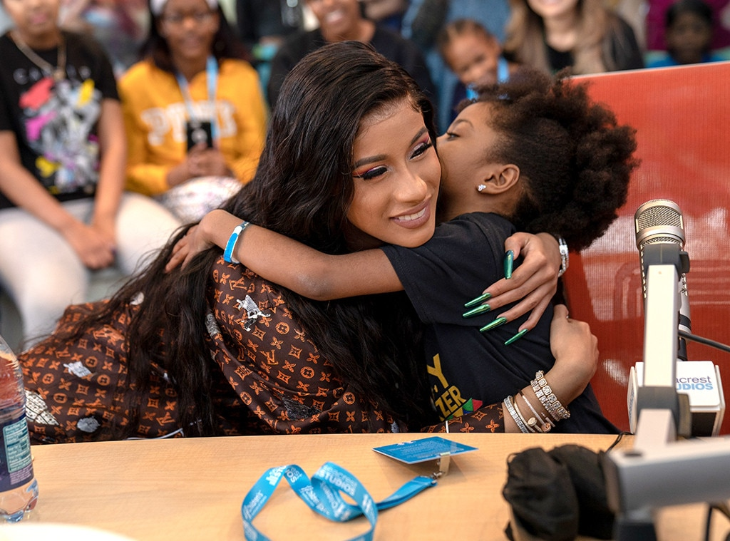 Cardi B, Children's Healthcare of Atlanta
