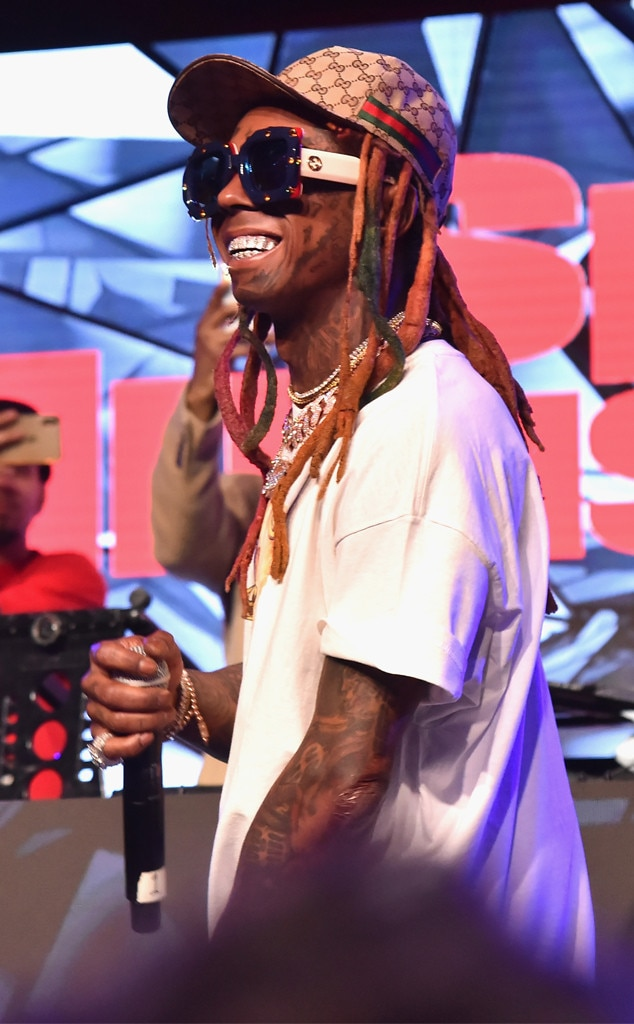 Lil Wayne from Super Bowl 2019: Star Sightings | E! News