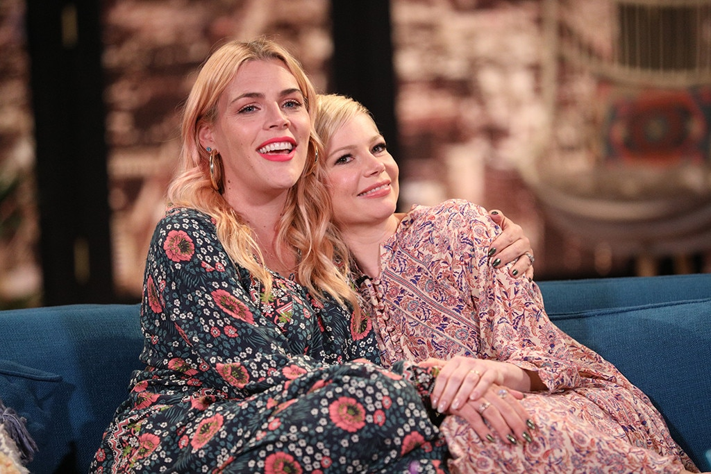 Michelle Williams -  Busy's best friend is in the house! The longtime BFFs catch up as they talk about  that time they almost died together  and exchange  tear-jerking handwritten letters that almost made Busy cry !
