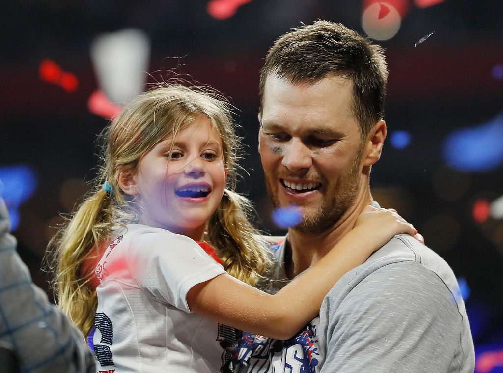 Tom Brady, Vivian Lake Brady, Super Bowl