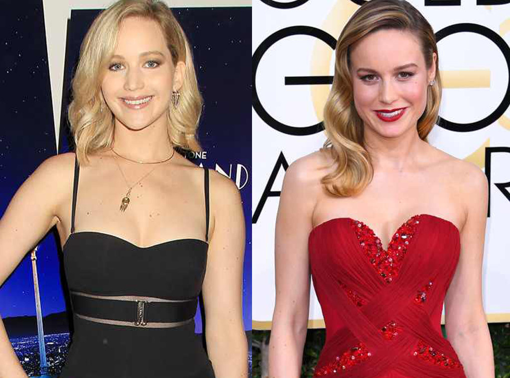 Brie Larson, Jennifer Lawrence