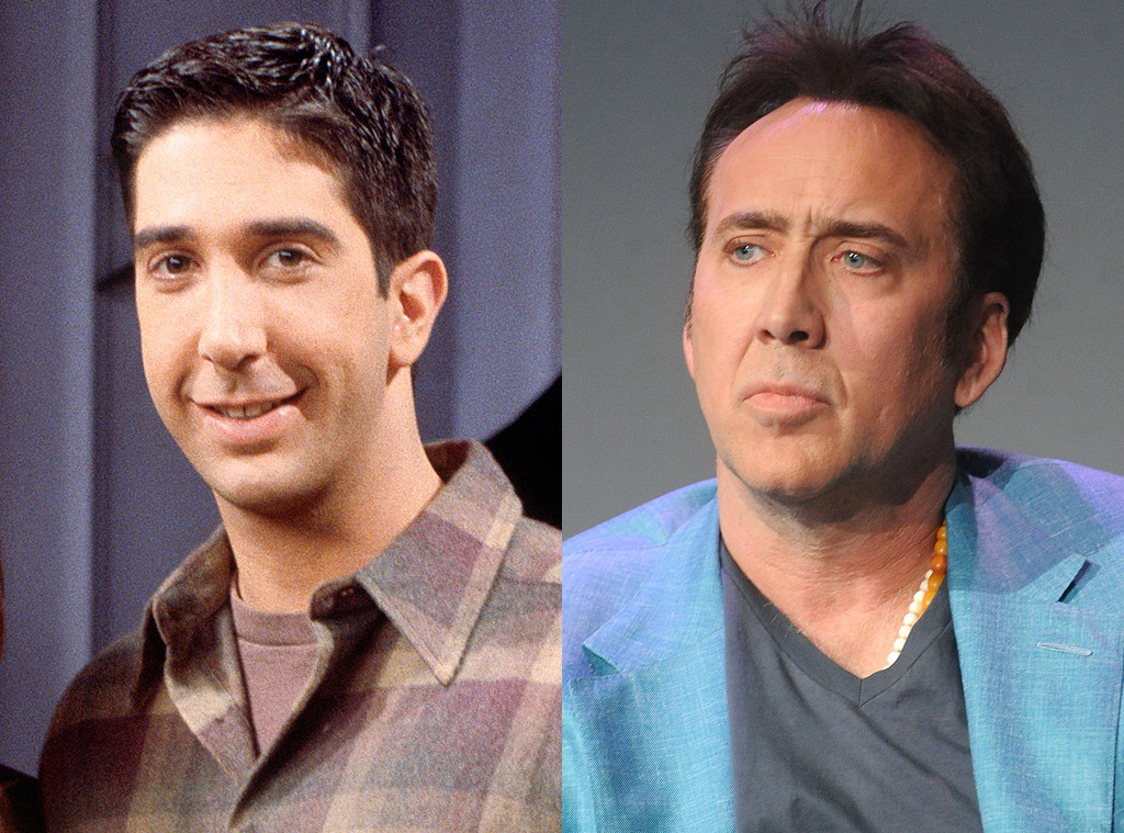 David Schwimmer and Nicolas Cage
