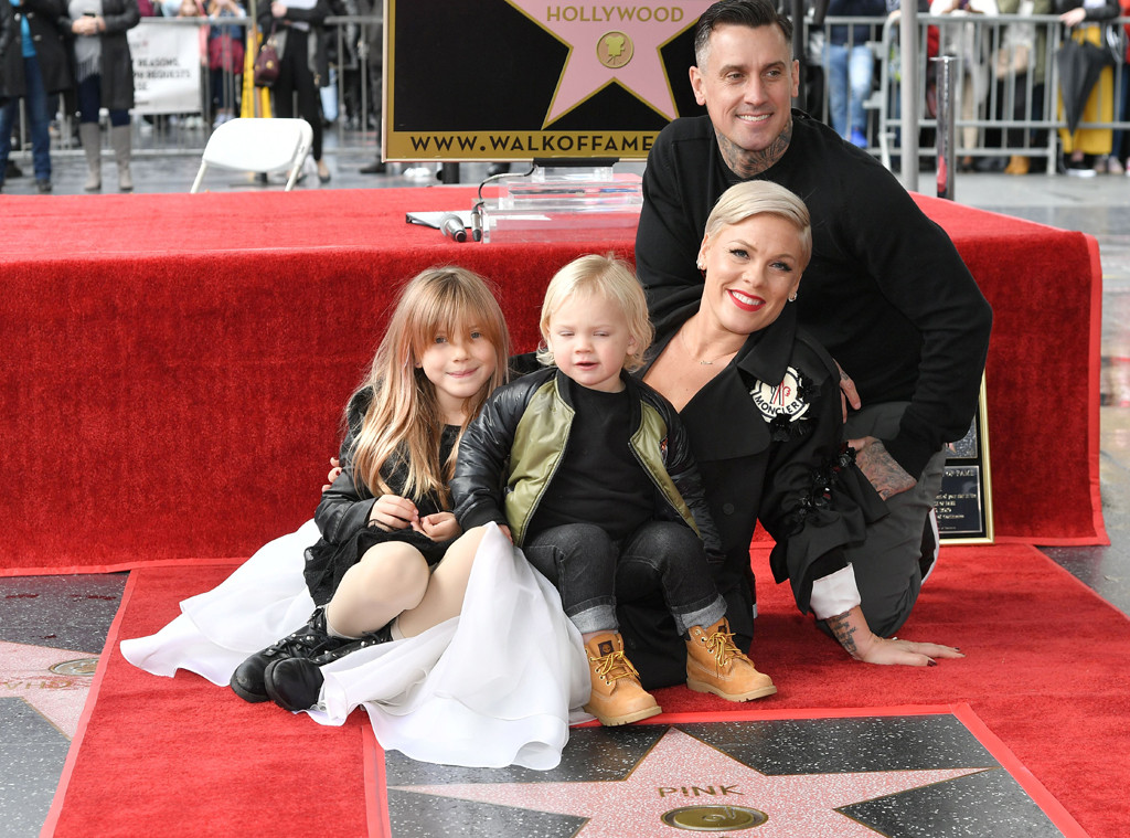 Pink, Hollywood Walk of Fame