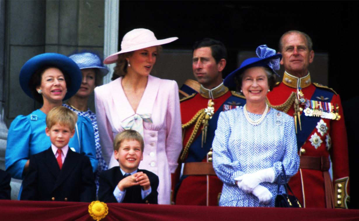 Princess Diana, Princess Margaret