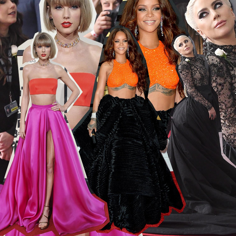 MICA! Grammys antes y después de las famosas