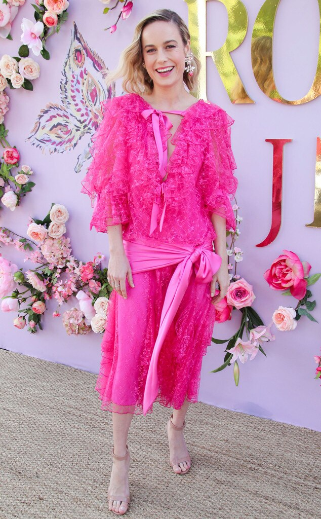 Brie Larson, Rodarte, 2019 Fashion Week, Los Angeles