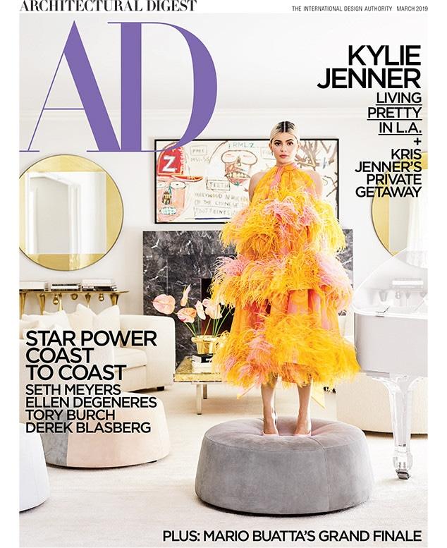 Kylie Jenner, Kris Jenner, Architectural Digest