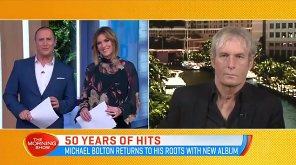 Michael Bolton, Morning Show