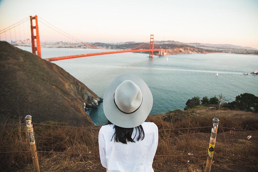 Golden Gate Bridge, Travelling Solo