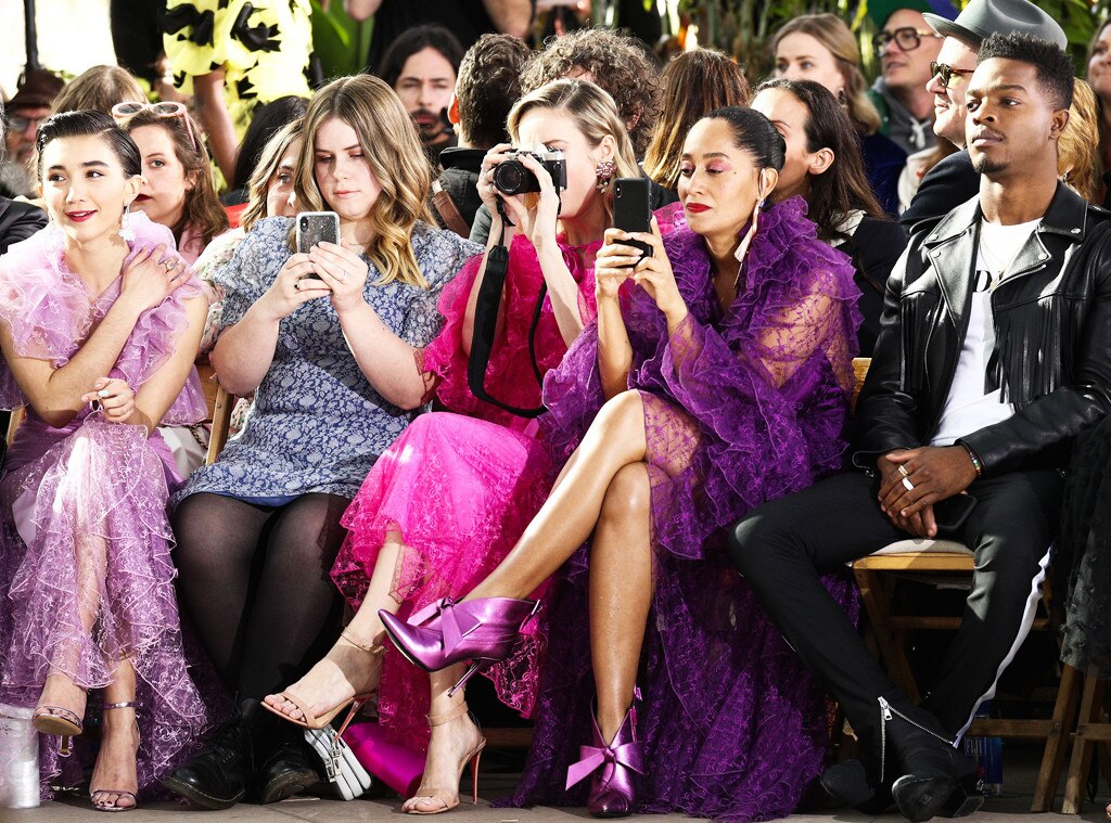 Rowan Blanchard, Jessie Ennis, Brie Larson, Tracee Ellis Ross & Stephan James -  Attended the Rodarte show on Feb. 5, 2019.