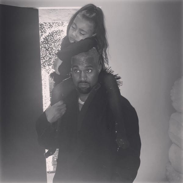 North West, Kanye West