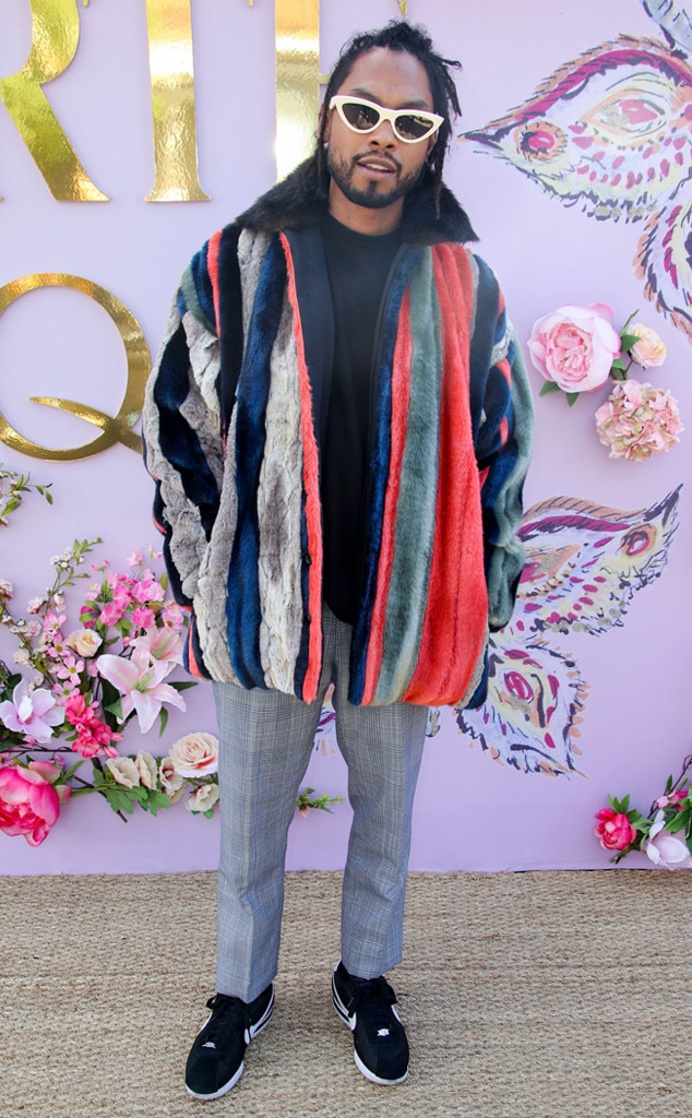 Miguel -  Attended the Rodarte show on Feb. 5, 2019.