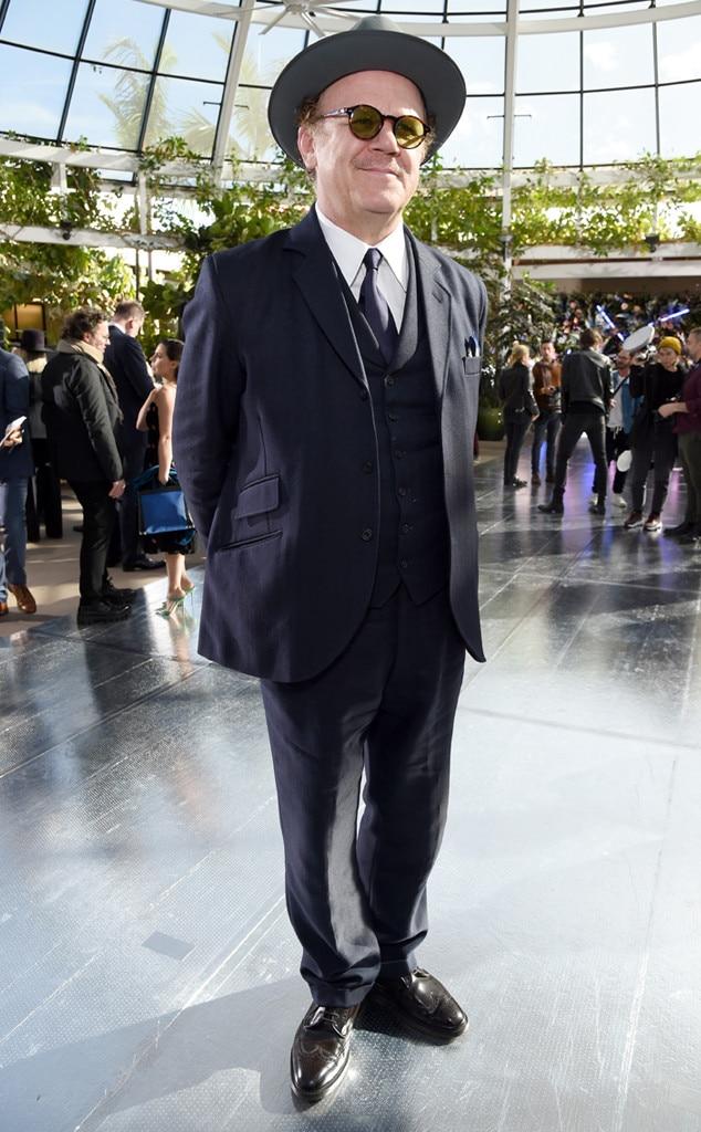 John C. Reilly -  Attended the Rodarte show on Feb. 5, 2019.