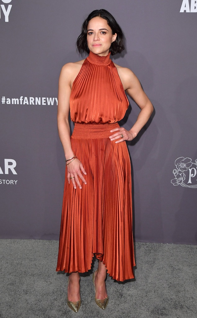 Michelle Rodriguez, amfAR Gala New York 2019