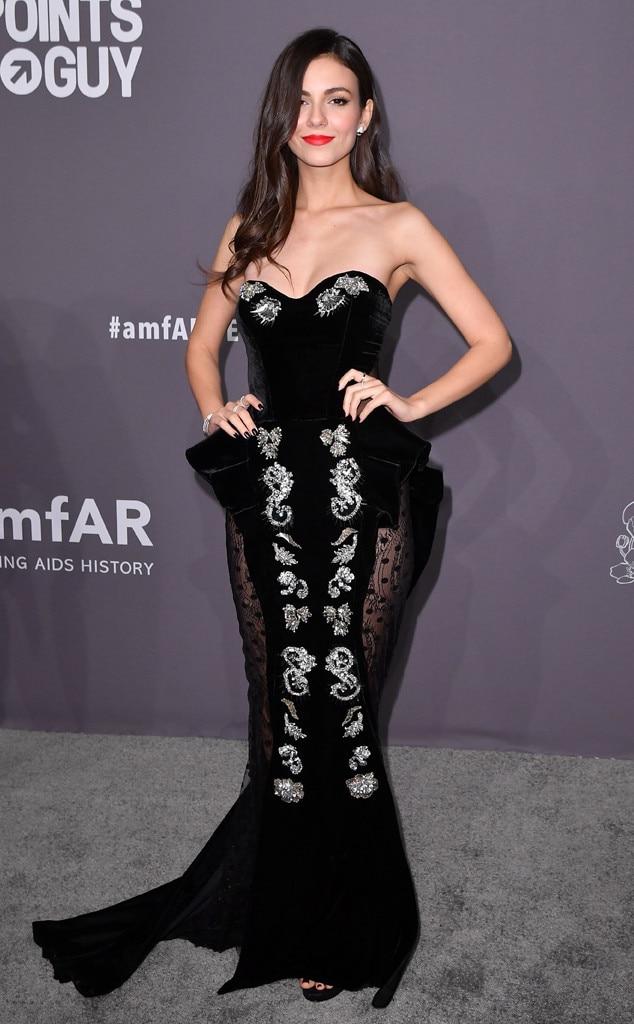 Victoria Justice, amfAR Gala New York 2019