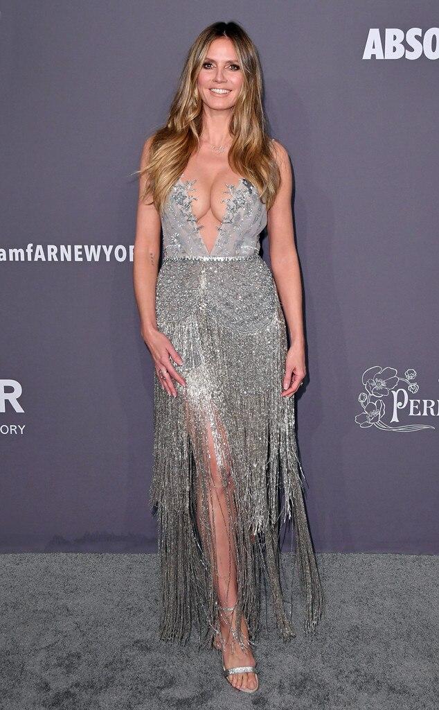 Heidi Klum, amfAR Gala New York 2019