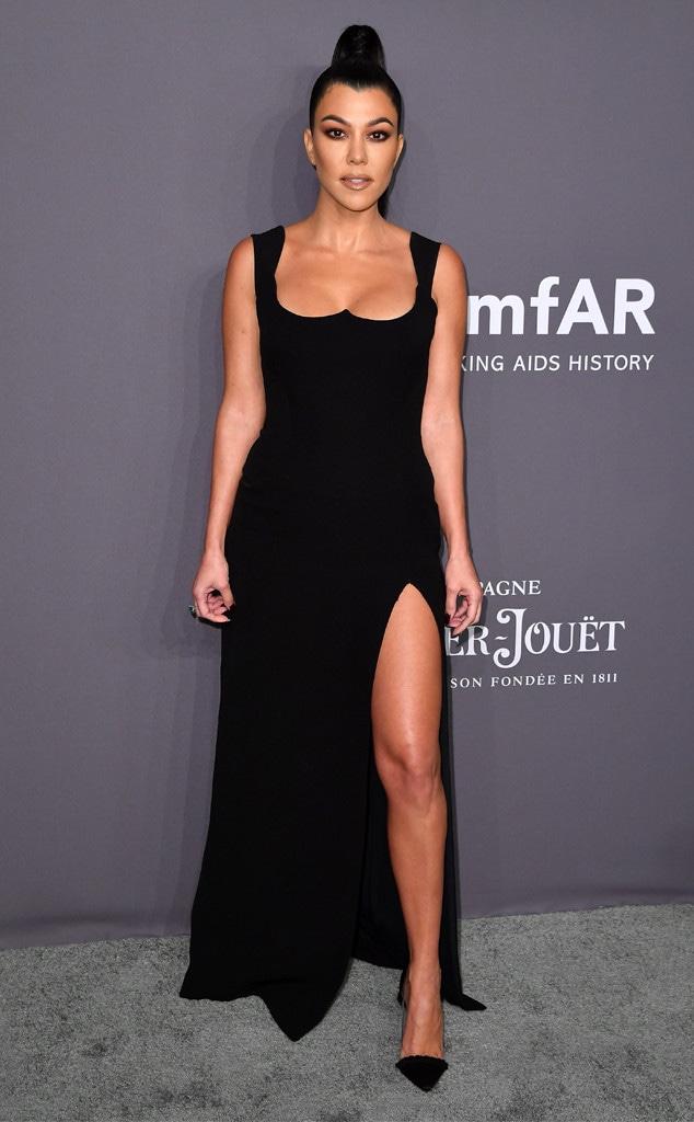 Kourtney Kardashian, amfAR Gala New York 2019