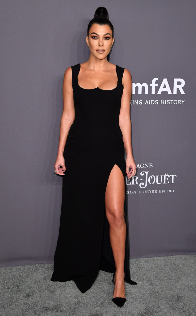 Kourtney Kardashian, amfAR Gala New York 2019