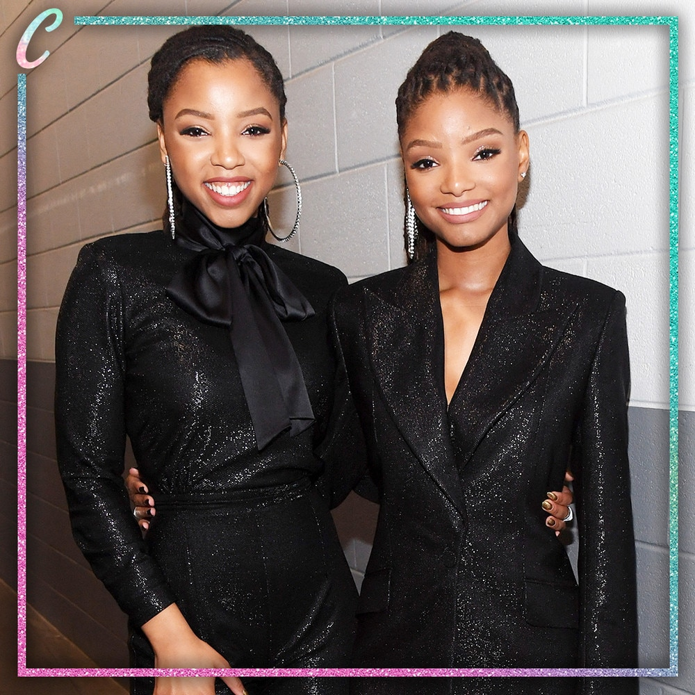 "C: Chloe x Halle -  Hot off their outstanding performance of ""America the Beautiful"" prior to kickoff at Super Bowl LIII in Atlanta on Sunday, Feb. 3,  Beyonce 's protogees (who also dabble in acting with roles on Freeform's  Grownish ) are up for two awards: Best New Artist and Best Urban Contemporary Album for their debut studio album  The Kids Are Alright  —where they're up against Queen Bey for The Carters'  Everything Is Love ."