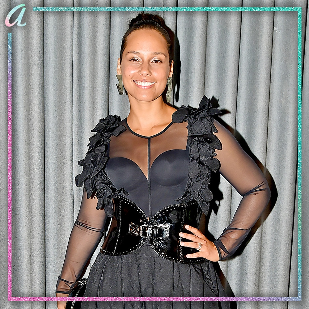 "A: Alicia Keys -  The 15-time Grammy winner and former Voice coach is taking over hosting duties from  James Corden  for this year's ceremony, with Portnow praising her as ""an artist who speaks to the power of music for good, a role model, and a spokesperson for change"" when the announcement was made. ""I know what it feels like to be on that stage, and I'm going to bring that vibe and energy,"" Keys told E!"