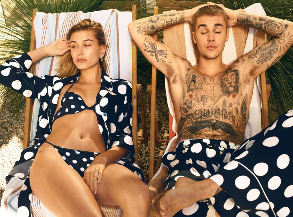 Justin Bieber, Hailey Baldwin, Vogue, March Vogue 2019