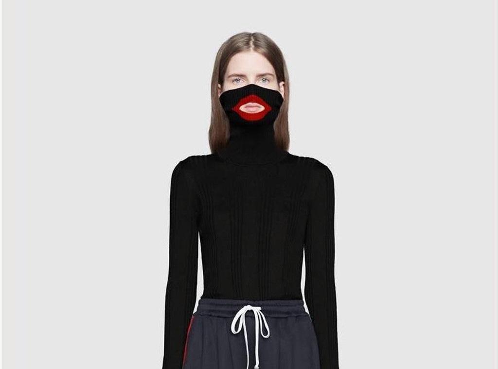 Gucci balaclava sweater