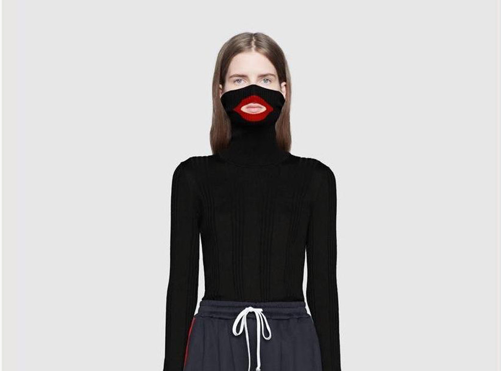 Gucci balaclava sweater