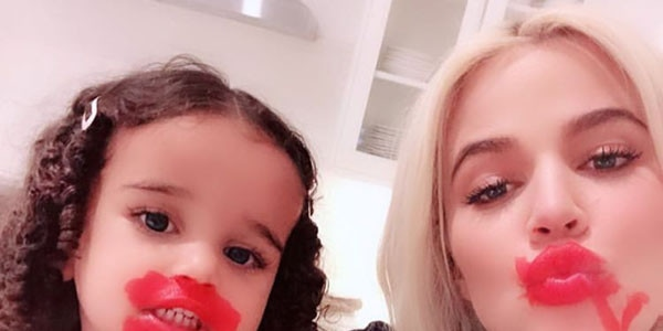 See Dream Kardashian Do Aunt Khloe's Makeup | E! News