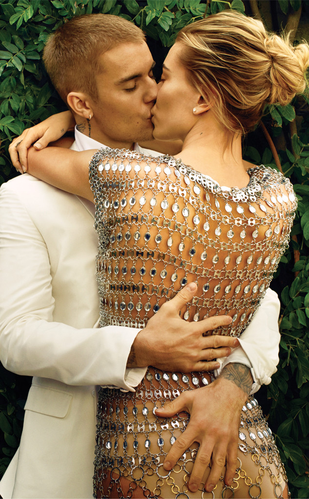 Justin Bieber, Hailey Baldwin, Vogue, March Vogue 2019