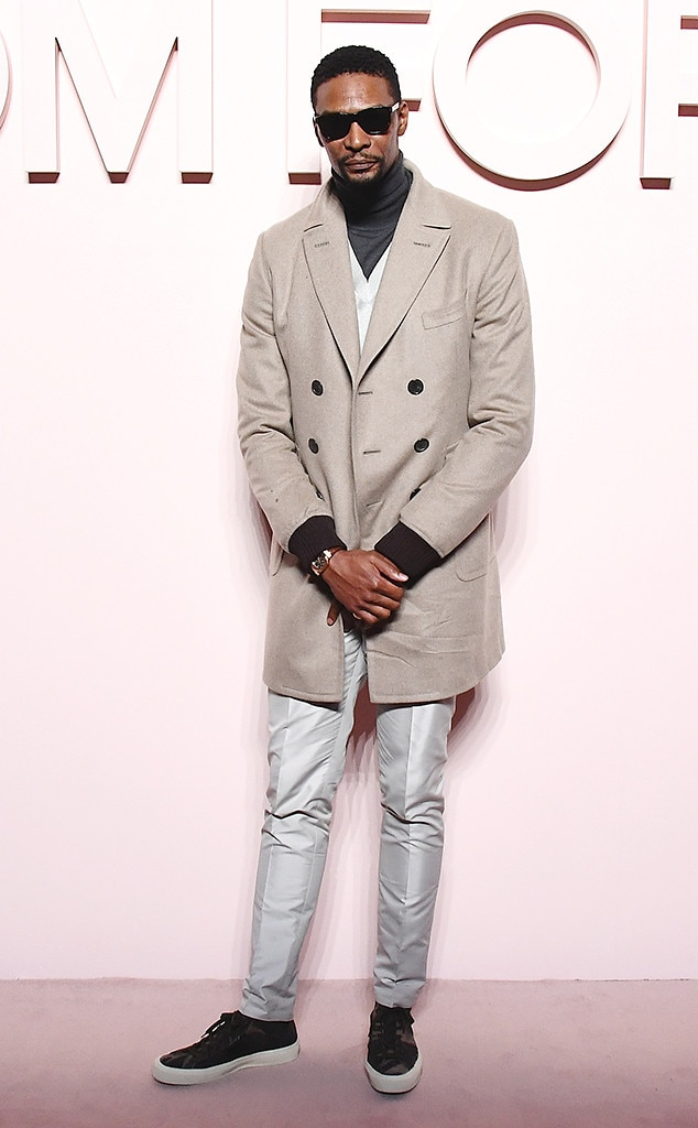 Chris Bosh -  Attended the Tom Ford show on Feb. 6, 2019.